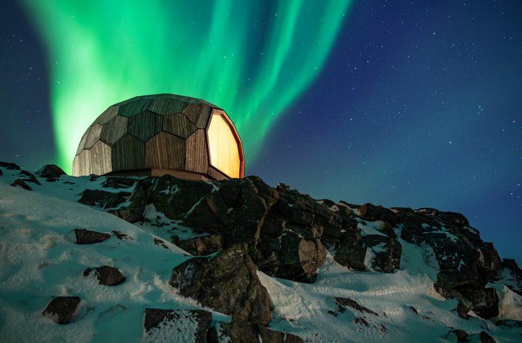 Dagsturhytter, il rifugio norvegese costruito come un puzzle