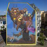 Gli animali surreali di Dulk, la strada diventa una giungla | Collater.al 10