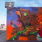 Gli animali surreali di Dulk, la strada diventa una giungla | Collater.al 11