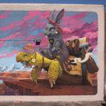 Gli animali surreali di Dulk, la strada diventa una giungla | Collater.al 4