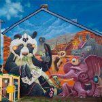 Gli animali surreali di Dulk, la strada diventa una giungla | Collater.al 7