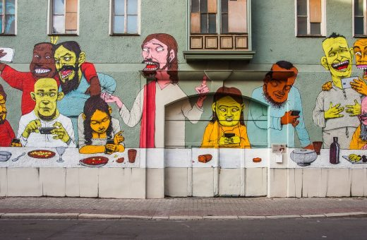 The art of protest, street artist Paulo Ito's murals