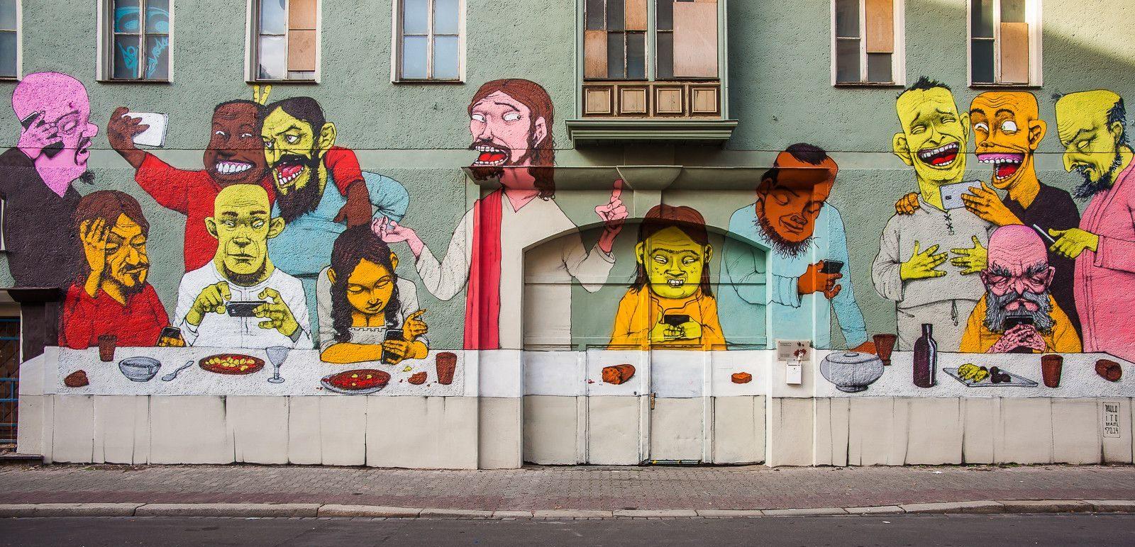 I murales di protesta del brasiliano Paulo Ito | Collater.al