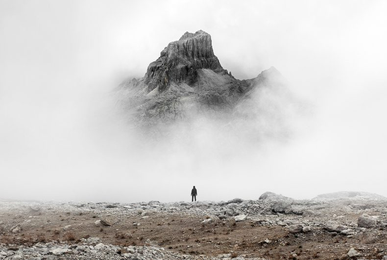 The lonely wanderers of Gustav Willeit