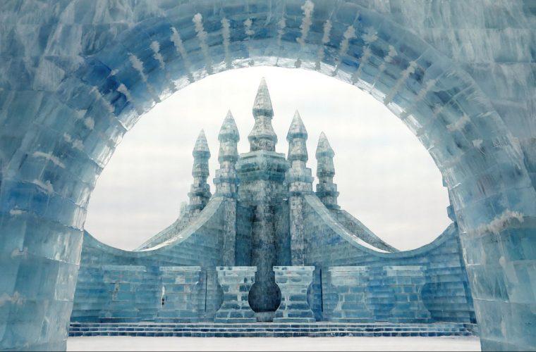 L'Ice Festival di Harbin e i magnifici edifici di ghiaccio