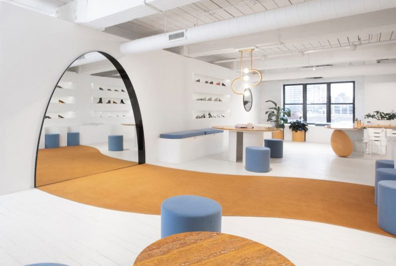 Il nuovo showroom del brand Gray Matters a Brooklyn