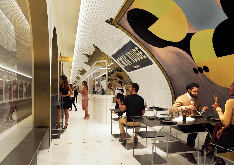 Il ristorante di Parigi che nascerà da un'ex stazione della metro