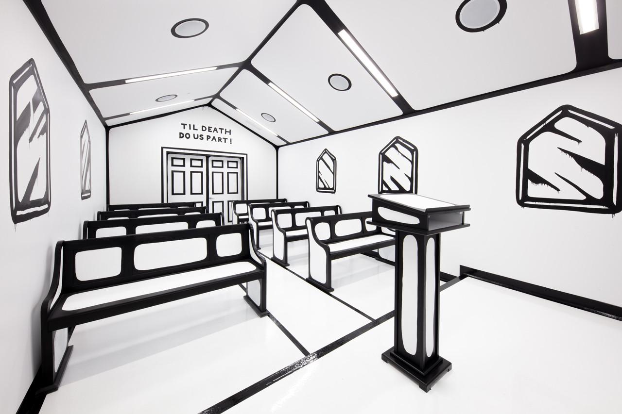 La White Wedding Chapel, l'ultima opera di Joshua Vides | Collater.al