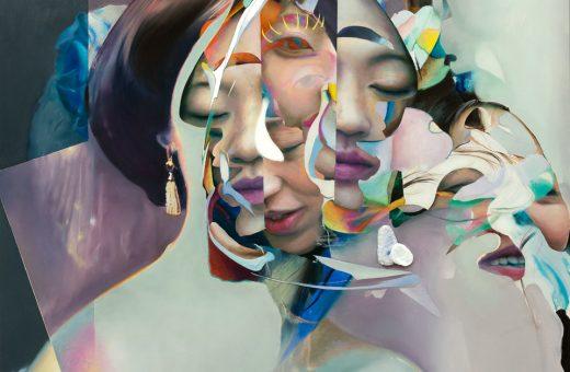 Deconstruction in Daniel Bilodeau's paintings