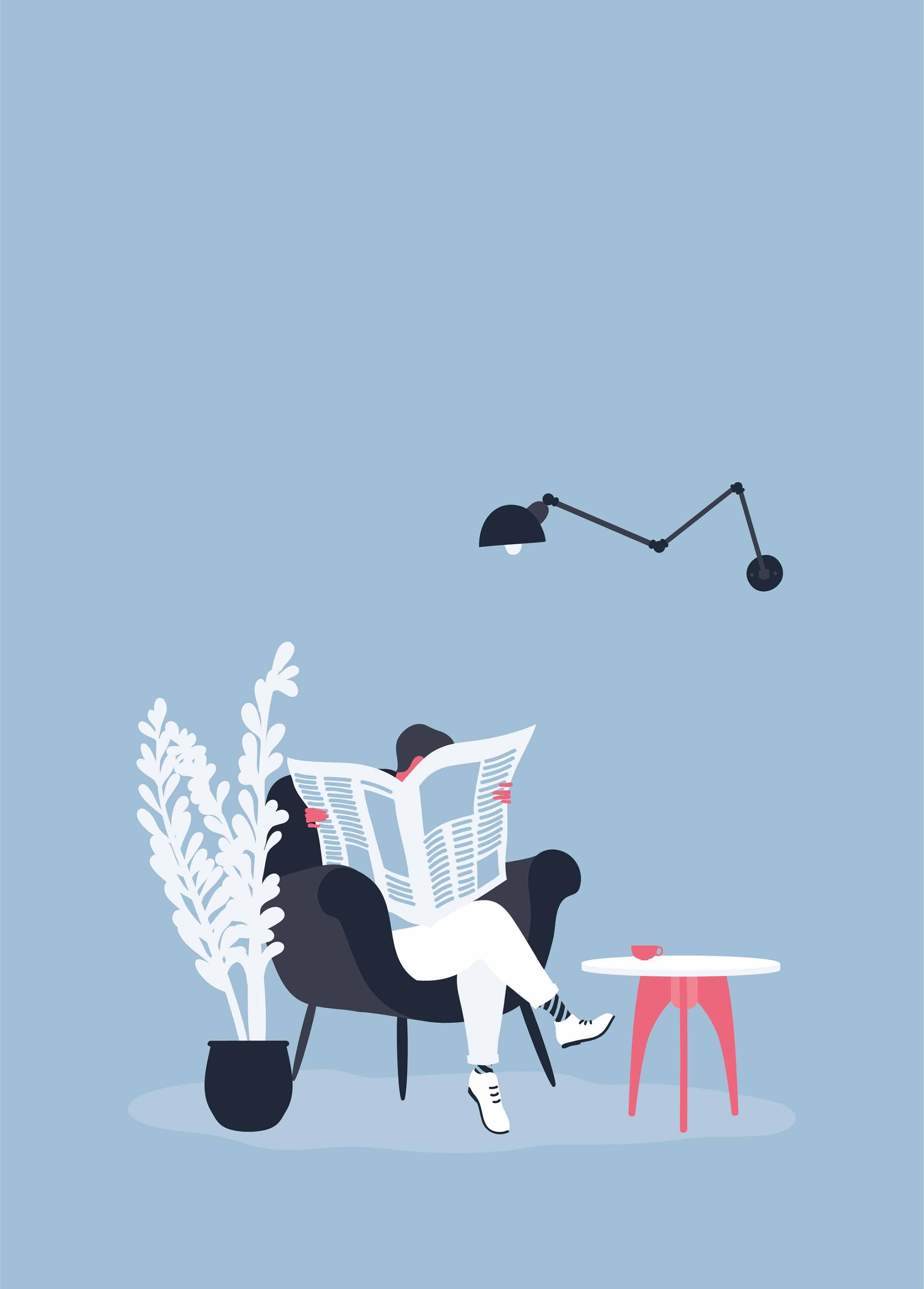 La quotidianità nelle illustrazioni di Alice Mollon | Collater.al
