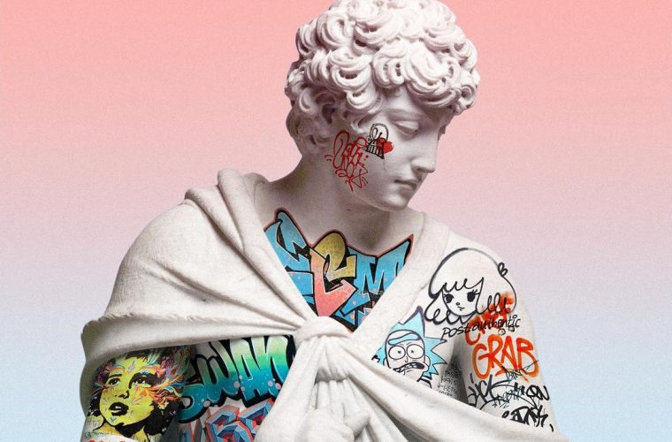 Le sculture vaporwave digitali di Litavrin