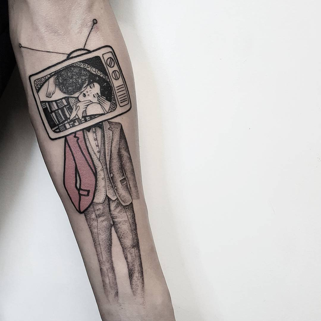 Lo stile pop dei tatuaggi di Matteo Nangeroni | Collater.al