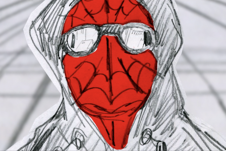 Short video for Breakfast – The Spiderman storyboard by Alberto Mielgo