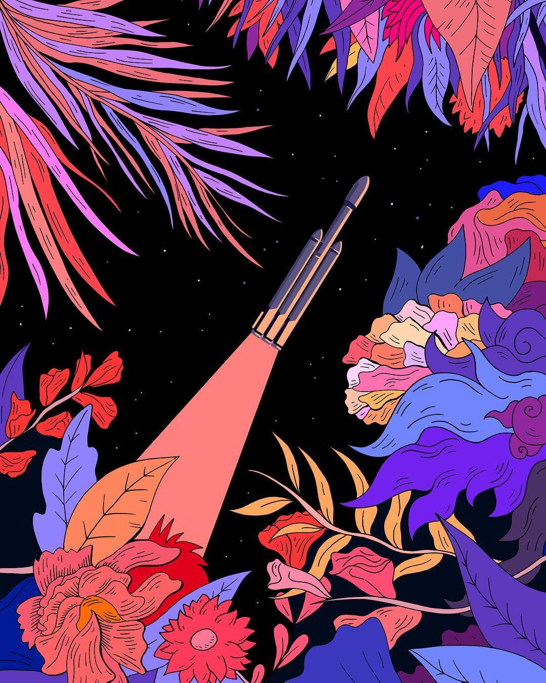Lo storytelling nelle illustrazioni di Tanguy Jestin | Collater.al