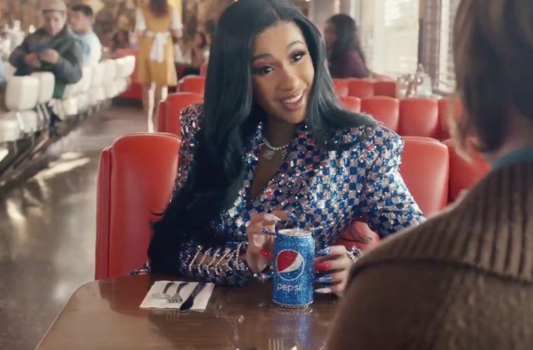 Super Bowl 2019, Cardi B protagonista del nuovo spot Pepsi