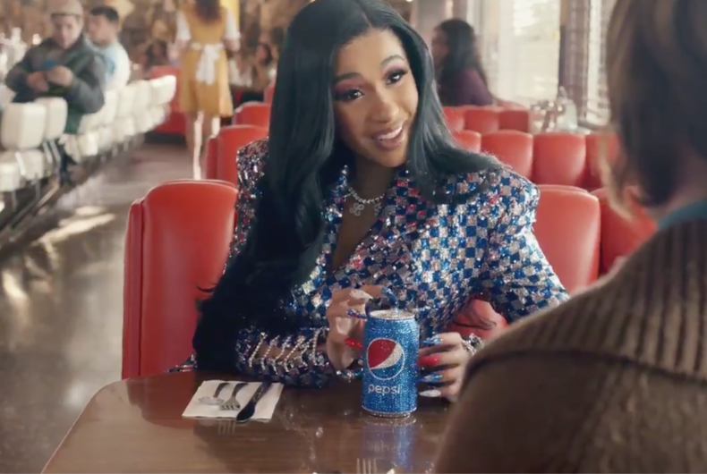 Super Bowl 2019, Cardi B is the protagonist of the new Pepsi's adv