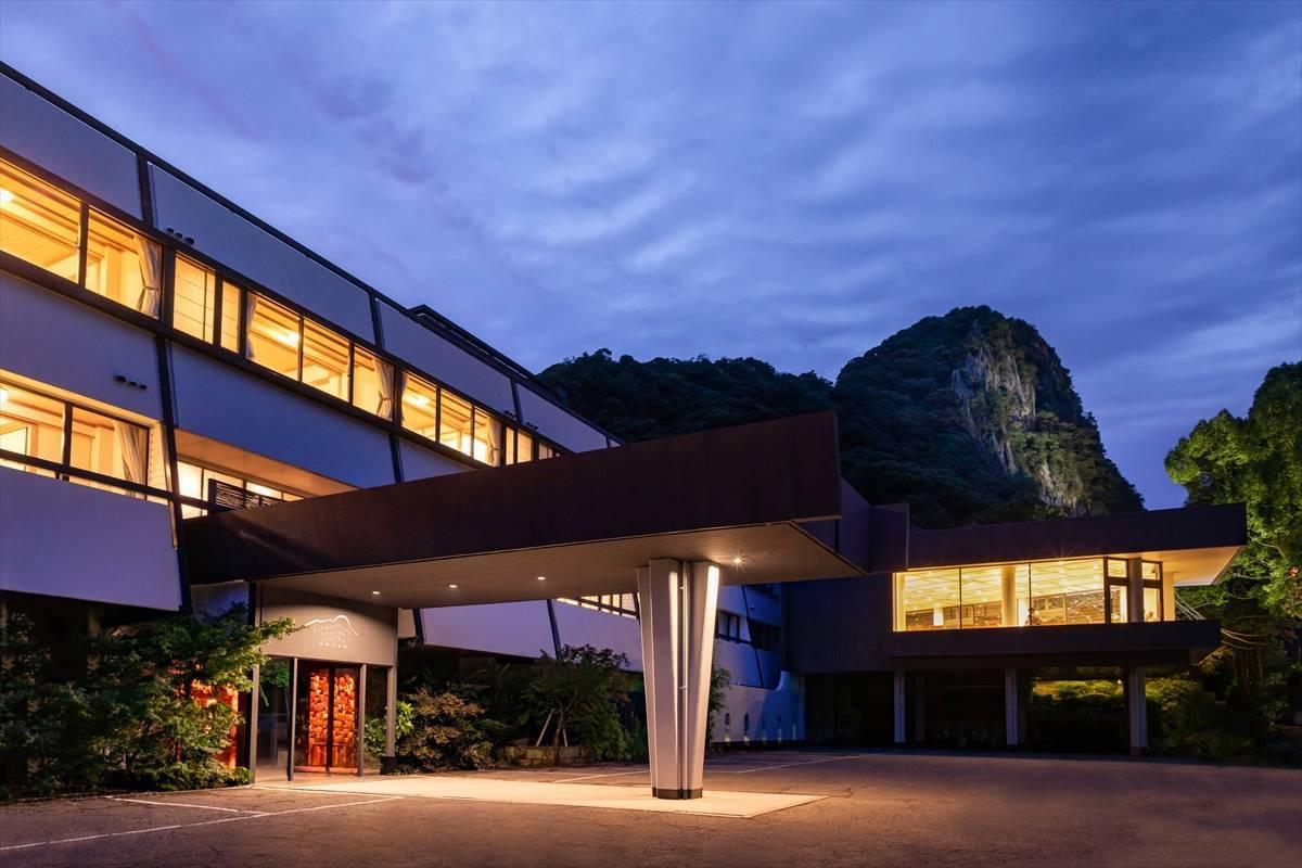 TeamLab firma la reception del Mifuneyama Rakuen hotel | Collater.al