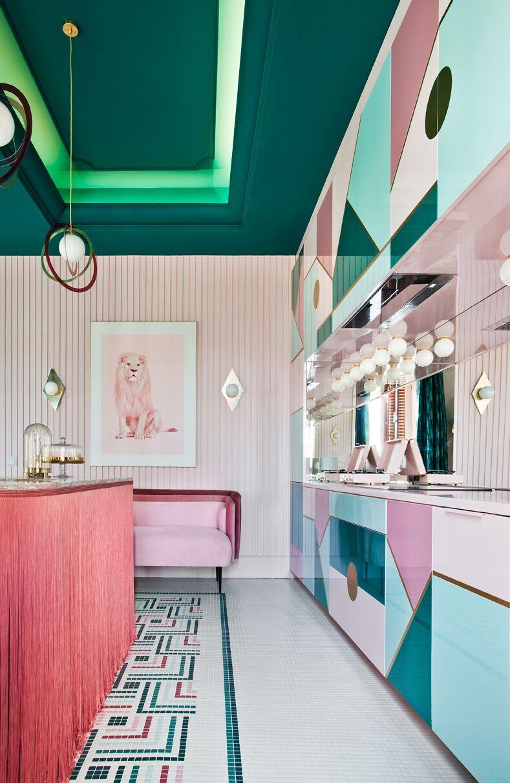 Wonder Galaxy, gli interni futuristici di Patricia Bustos | Collater.al