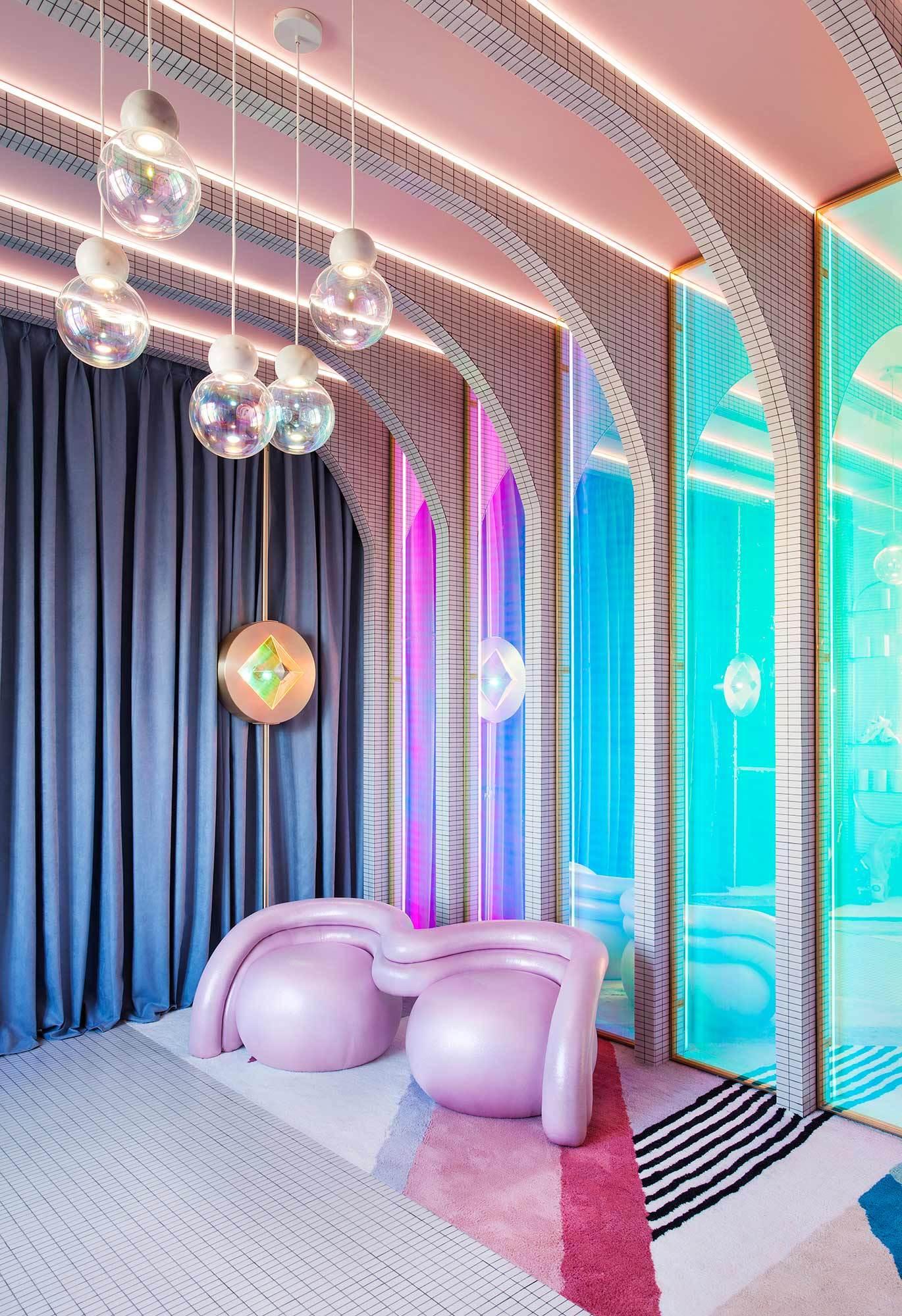 Wonder Galaxy, gli interni futuristici di Patricia Bustos | Collater.al 1
