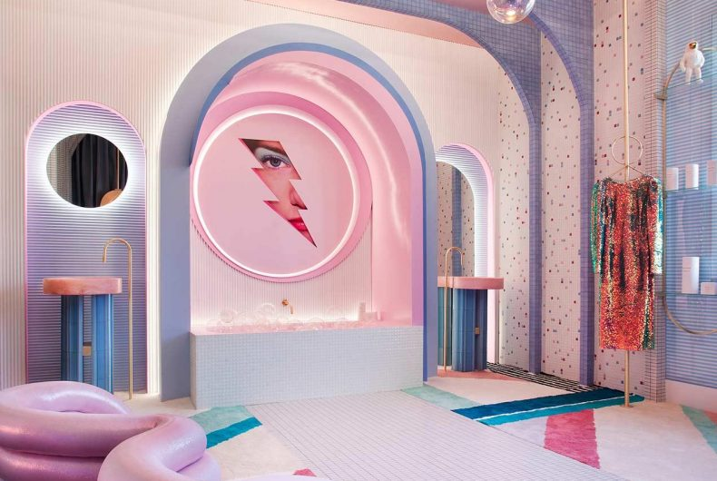 Wonder Galaxy, futuristic interiors by Patricia Bustos