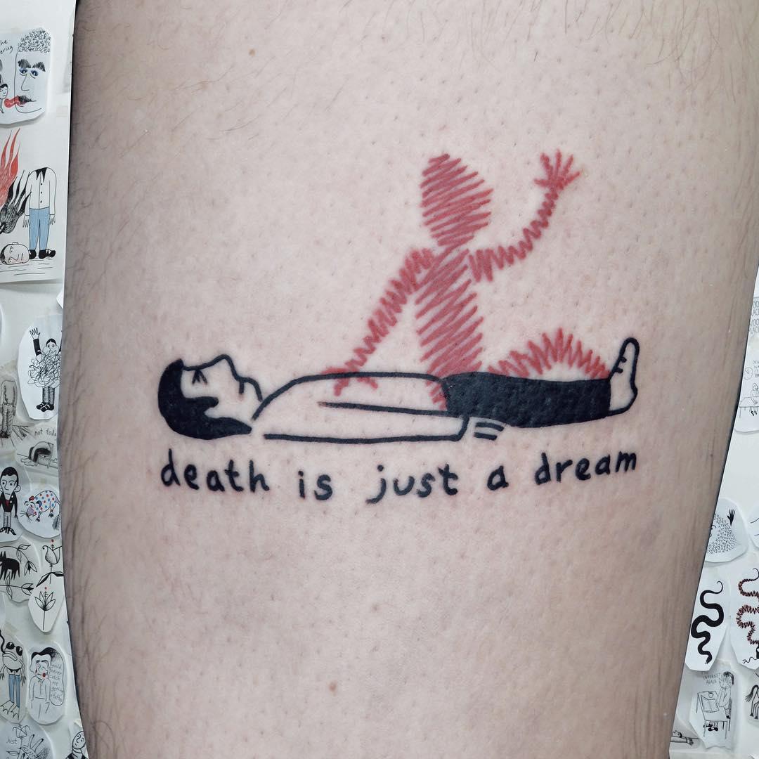 Woozy Machine Tattoos | Collater.al