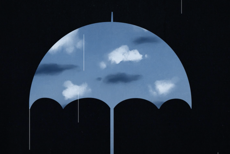 Short video for Breakfast – Cumulus, a dip in Magritte's world