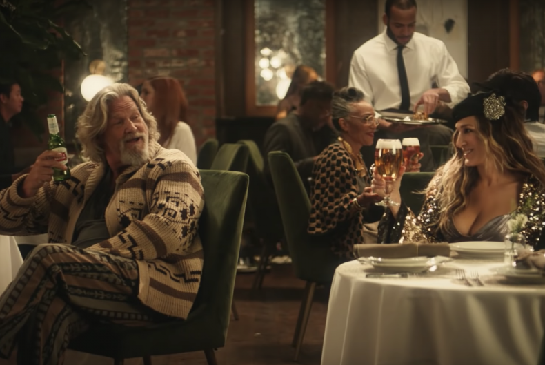 The Big Lebowski returns in the new Stella Artois commercial