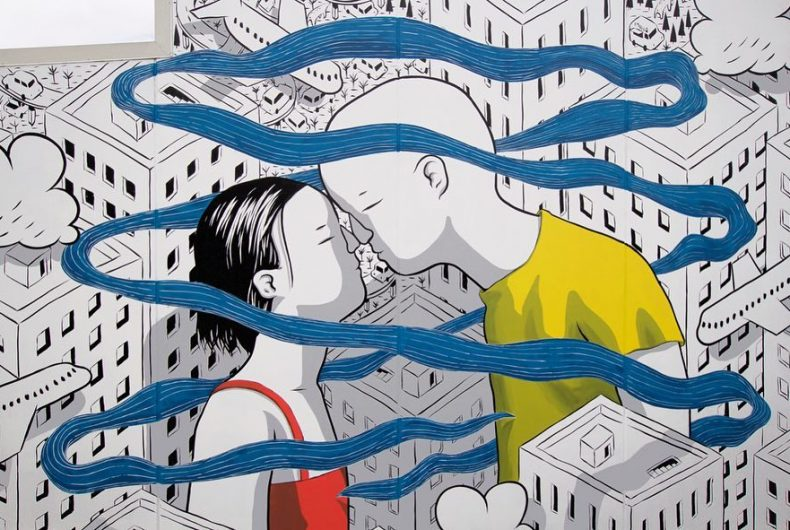 Hongi – The breath of life, Millo's new work in Whangarei