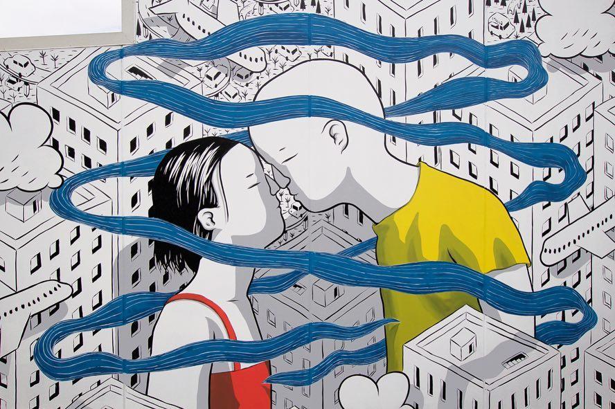 Hongi - The breath of life, la nuova opera di Millo a Whangarei | Collater.al