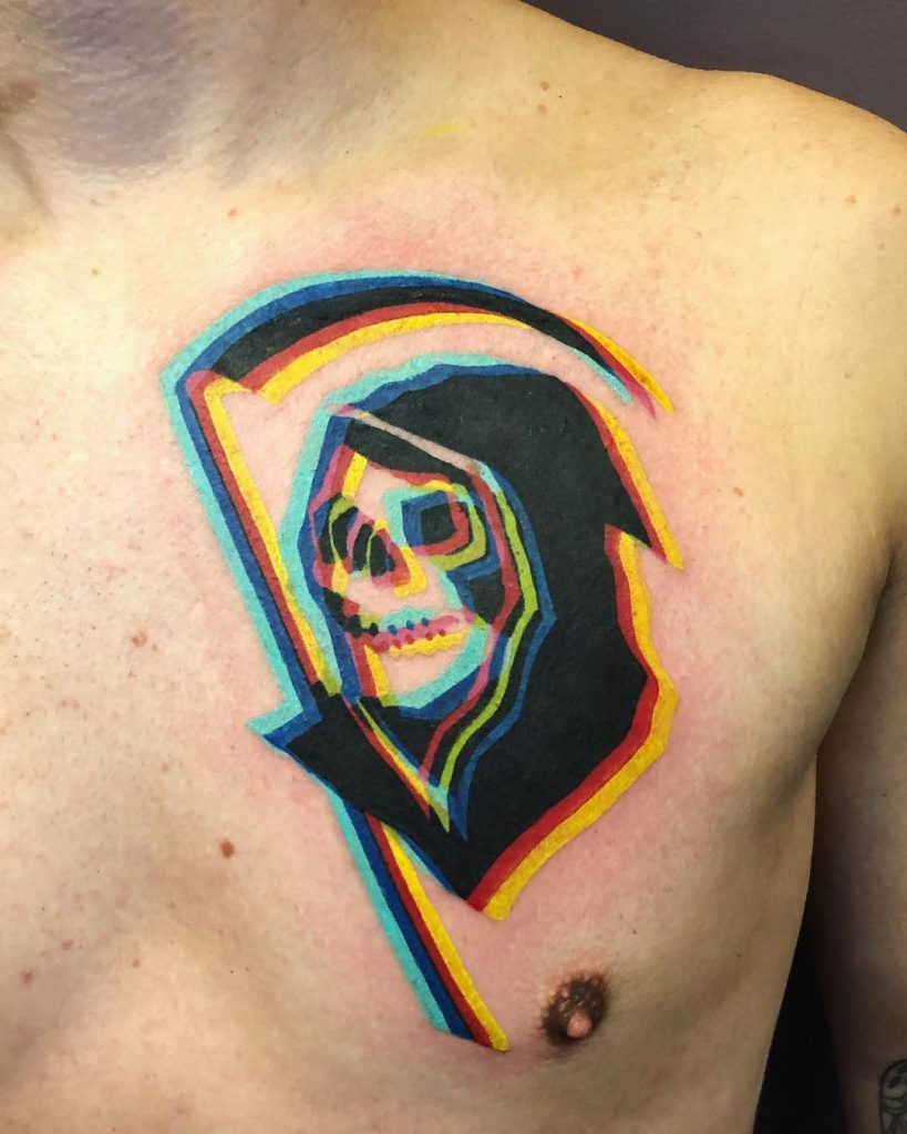 Adam Friedman, tatuaggi che si sdoppiano | Collater.al