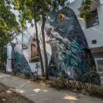 Adele Renault, street art iperrealista a Delhi | Collater.al 1