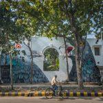 Adele Renault, street art iperrealista a Delhi | Collater.al 5