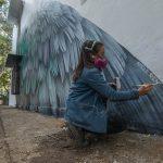 Adele Renault, street art iperrealista a Delhi | Collater.al 6