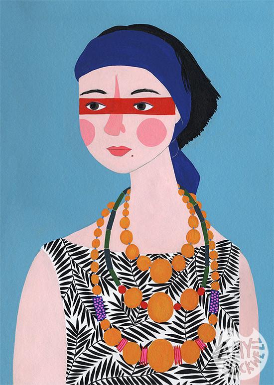 Amy Blackwell, ritratti folk di donne comuni | Collater.al 22