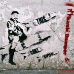 Bambi e la sua street art ironica e pungente | Collater.al 1