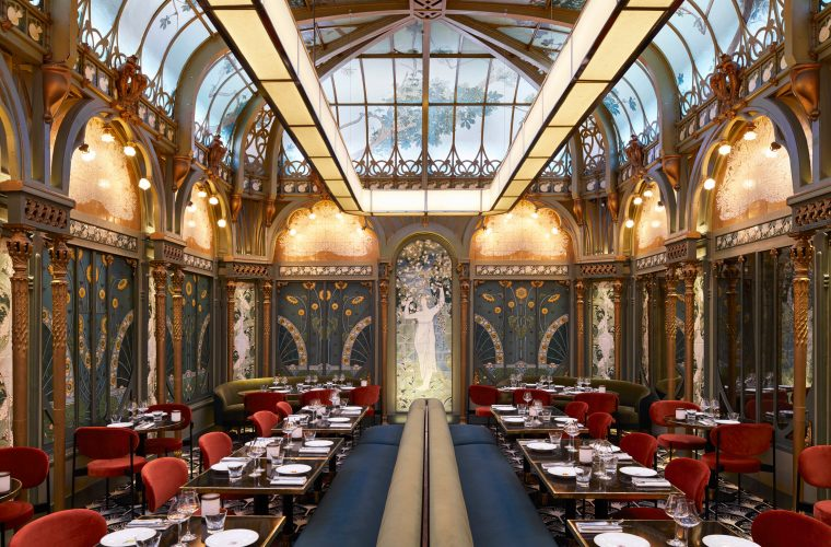 Beefbar Paris, il ritorno dell'Art Nouveau