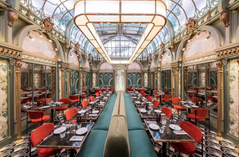 Beefbar Paris, the return of Art Nouveau style