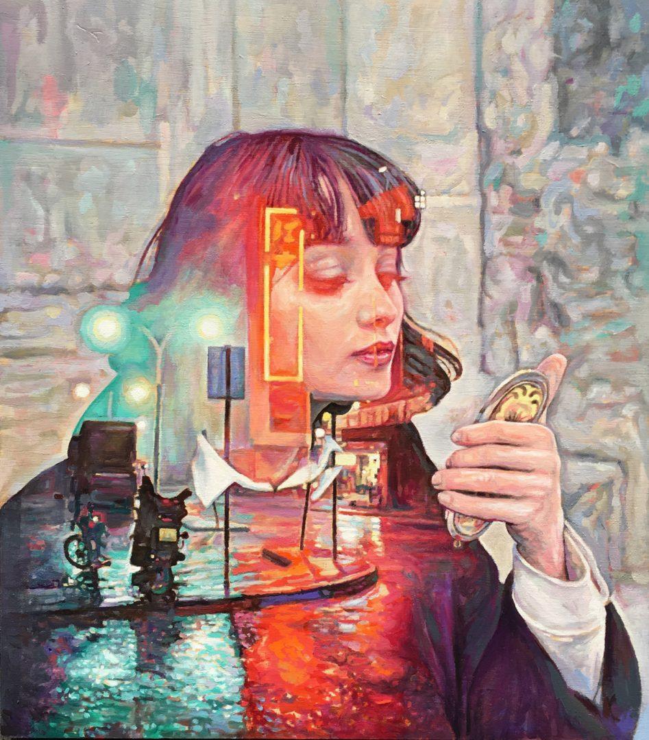 Cristian Blanxer realizza quadri che sembrano fotografie