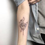 Curt Montgomery, tatuaggi cool e minimali | Collater.al 4