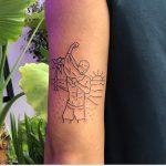 Curt Montgomery, tatuaggi cool e minimali | Collater.al 9