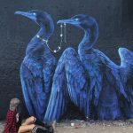 Emily Ding, street art e natura selvaggia | Collater.al 7