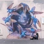 Emily Ding, street art e natura selvaggia | Collater.al