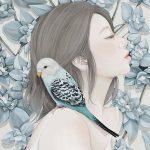 Ensee, illustrazioni di donne fragili come fiori   Collater.al 10
