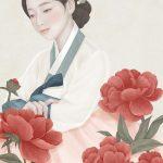 Ensee, illustrazioni di donne fragili come fiori   Collater.al 8