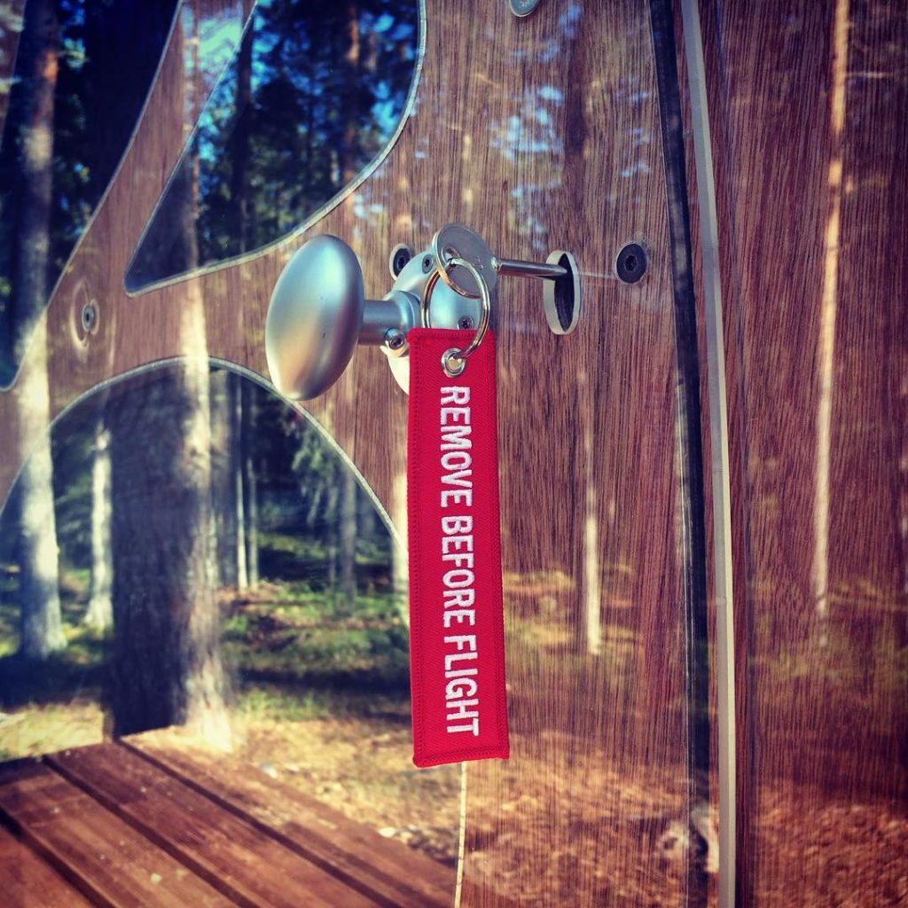 Fuselage tree tent | Collater.al