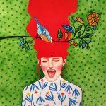 Hülya Özdemir ritrae le donne nei suoi acquerelli | Collater.al 11