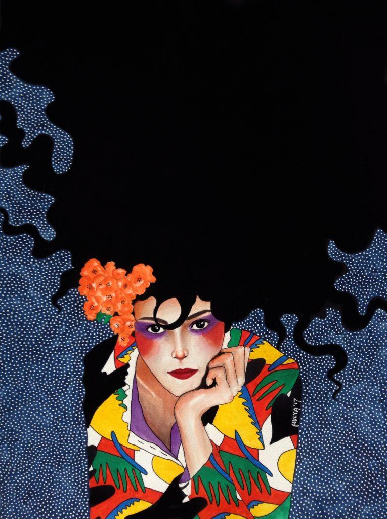Hülya Özdemir ritrae le donne nei suoi acquerelli | Collater.al