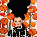 Hülya Özdemir ritrae le donne nei suoi acquerelli | Collater.al 2