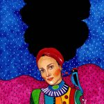 Hülya Özdemir ritrae le donne nei suoi acquerelli | Collater.al 5