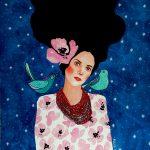 Hülya Özdemir ritrae le donne nei suoi acquerelli | Collater.al 6